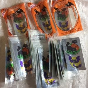 VTG 1994 105 pls Halloween treat stickers hallmark